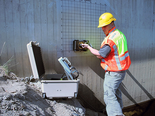 Qualified Perth Concrete Scanning technician